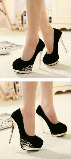 571d88b95b34 High heels and short dresses