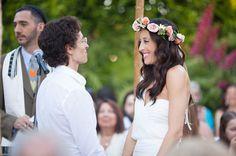 Modern, Romantic Palm Springs Wedding: Jenny + Dina