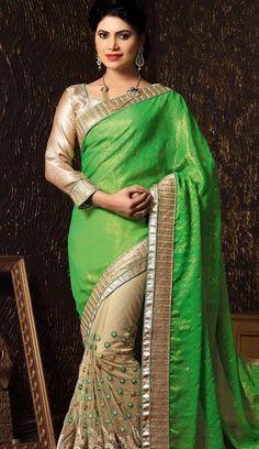 Indian Clothes Online, Indian Sarees Online, Lehenga Suit, Indian Bridal Lehenga, Indian Outfits, Indian Dresses, Net Saree, Saree Sale, Designer Sarees