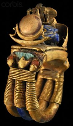 Ring from the tomb of Tutankhamun.