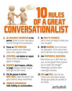 Blog engleskog jezika - How to become a great conversationalist