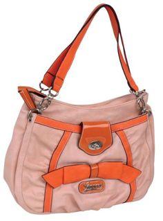 Ladies Hand Bag GUSSACI Synthetik, rose - Buy New: £24.99 [UK & Ireland Only]