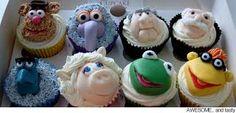 Cute Food, Cute Cupcakes, Designer Cakes, Cupcakes Decorating, Kids Cupcakes, Cupcakes Ideas, Cute Cake - Part 45