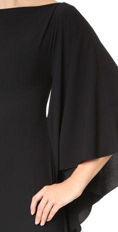 Cushnie Et Ochs Side Ruffle Asymmetrical Dress | SHOPBOP