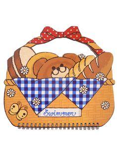 ラブリーBAGノート パン