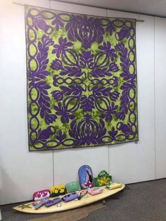 Hawaiian Quilt Patterns, Hawaiian Quilts, Pattern And Decoration, Pattern Art, Applique, Flowers, Quilting, Fat Quarters, Royal Icing Flowers