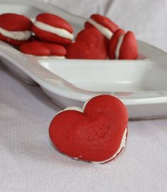 #Valentine's Day whoopie pies