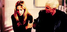 """When Spike consoles Buffy instead of getting revenge on her. 