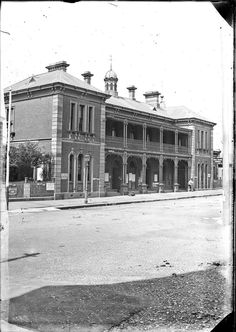 Source: livinghistories.newcastle.edu.au/nodes/view/40919 This image was scanned from the original glass negative taken by Ralph Snowball. It is part of the Norm Barney Photographic Collection, held by Cultural Collections at the University of Newcastle, NSW, Australia. This image can be used for study and personal research purposes. If you wish to reproduce this image for any other purpose you must obtain permission by contacting the University of Newcastle's Cultural ... Newcastle Town, Australian Road Trip, Historic Architecture, Western World, Historical Photos, Road Trips, Trains, Purpose, Buildings