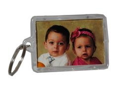 12 Acrylic Photo Picture Frame Key Chains -- To view further for this item, visit the image link.