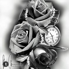Time passes I think of you. enjoy all my sexy thoughts of you. Tattoo Sketches, Tattoo Drawings, Badass Drawings, Tattoo Studio, Sleeve Tattoos, Sexy Tattoos, 4 Tattoo, Tatuajes Tattoos, Watch Tattoos