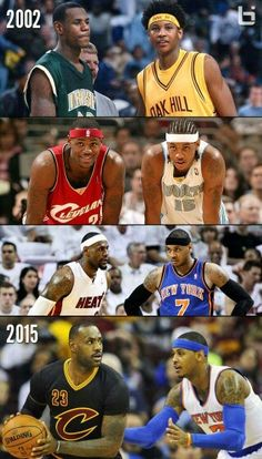 073f24346a0 UPDATE  LeBron defends the jerseys. During the first half of the LeBron vs  Melo show – a show we have been enjoying since 2002 when they…