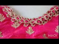 Garland neck pattern making for kids frock Chudi Neck Designs, Neck Designs For Suits, Neckline Designs, Dress Neck Designs, Hand Designs, Blouse Neck Patterns, Saree Blouse Neck Designs, Designer Blouse Patterns, Salwar Neck Patterns