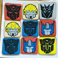 Transformers cookies