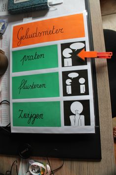 Klasversiering - Geluidsmeter