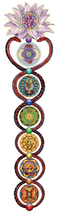 Kundalini art tattoo idea