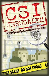 KMAC KREATIONS: CSI JERUSALEM discipleship curriculum is an inside look at the greatest crime ever committed. This curriculum will investiga...