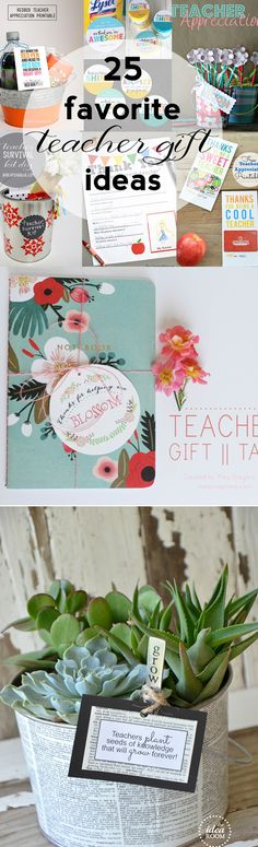 BEST teacher gift ideas around!  #teachergifts #backtoschool