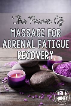 """""""Massage for adrenal fatigue is actually an ingenious addition to my healing protocol because it has a direct, measurable impact on your biochemistry! Finally a healthy change that feels more like a treat in this adrenal fatigue recovery process. Adrenal Fatigue Treatment, Adrenal Fatigue Symptoms, Chronic Fatigue Syndrome Diet, Thyroid Symptoms, Massage For Men, Neck Massage, Foot Massage, Adrenal Support, Adrenal Health"""