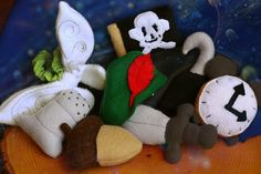 Peter Pan Inspired Catnip Toys and Cat Costume by MissStitchinWitch