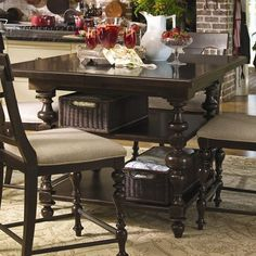 I pinned this Paula Deen Sweet Tea Kitchen Table from the Tuscan Kitchen event at Joss and Main!