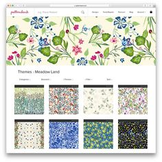 The future of buying and selling textile designs is online so we're showing our latest exclusive Spring/Summer 2017 collection online. We've created 4 unique trend stories from our recent trip to Premiere Vision New York where we exhibited last month: Meadow Land S/S 17 Seasonal Trend Story