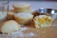 Små citronkakor med lemoncurd - bakedwithstyle