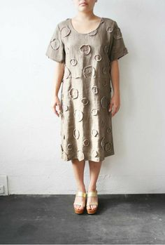 Sack Dress by weltenbuerger on Etsy, $138.00