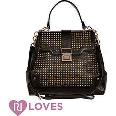 black studded clasp bag - bags / purses - sale - women - River Island