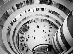 The Guggenheim Museum Circular Ramp