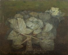 Cabbage 1949 oil on canvas Prunella Clough Landscape Art, Landscape Paintings, Abstract Paintings, Abstract Art, Artist Painting, Painting & Drawing, London Art, Modern Artists, Painting Edges