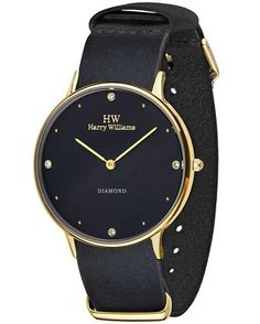 Supply European fashion Ultra-thin watch with stainless steel case Famous Brands, Watch Brands, European Fashion, Stainless Steel Case, Eyewear, Black Leather, Watches, Minimalist