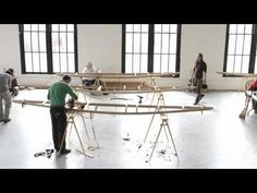 Skin on Frame kayak workshop... Time Lapse... Beautiful... I want to be there...