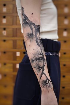 #tattoos chinese ink painting instagram:newtattoo陈洁