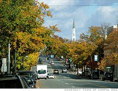 Chapel Hill, North Carolina, home of UNC...worked for the University...Go Heels