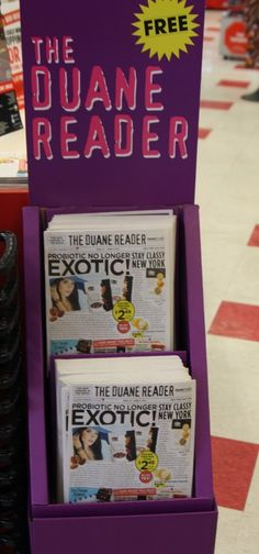 The Duane Reader