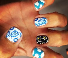 #NailArt Bloggers we love: WAH nails. #SelfMagazine #photos #fitness #fat #advice #cute #gorgeous #health and fitness #healthier #living #life #lady #abs #lean #fat