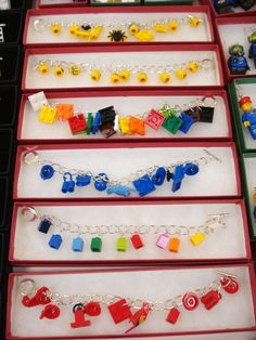 LEGO Charm bracelets