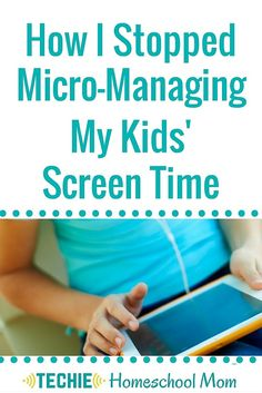 The legalistic rules I had made about computer usage led to strained relationships and unrest. I knew that I needed to stop micro-managing my kids' screen time and to teach them to self-govern their tech habits. I needed to give more freedom to have more peace in our home. Read to discover how giving our kids unlimited tech time has been the solution to our problem. Plus, download a copy of our Unlimited Tech Time Guidelines.