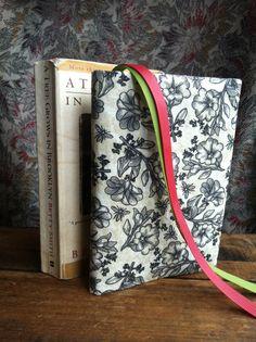 Custom Beautiful fabric book covers hand by ThreadsBehindTheSea, $10.00