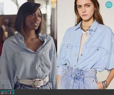 Other Outfits, Oversized Shirt, Insecure, Denim Skirt, Ruffle Blouse, Fashion Outfits, Shorts, Luxury, Blue