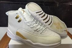 http://www.griffeyshoes.com/drake-air-jordan-12-ovo-white-and-gold-for-sale-best-price.html Only$96.00 DRAKE AIR #JORDAN 12 OVO WHITE AND GOLD FOR SALE BEST PRICE #Free #Shipping!