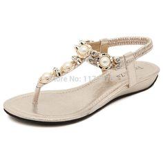 2015 Woman Sandals Summer Fashion w/ Crystal Decoration Sandal