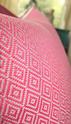 Schumacher  Pink Pillow Cover  Designer Pink by MotifPillows, $57.00 Guest Bedroom Twin Beds