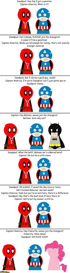funny captain america | Captain America's A Jerk Deadpool Funny Pictures Add Funny