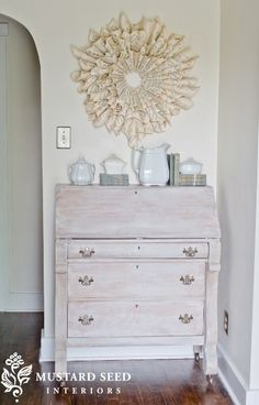 white washing to create antique look. ideas-for-our-home