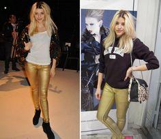 jeans dorados - Buscar con Google