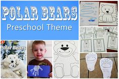Polar Bears Preschool Theme - Mommys Little Helper