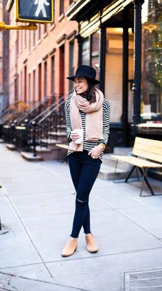 Street style tip of the day: A striped sweater