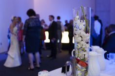 Black box theatre wedding reception | Contemporary Arts Center, Cincinnati | www.laura-fisher-photography.com